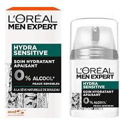 Men Expert Hydra Sensitive Soin Hydratant Apaisant Visage Homme