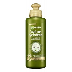 Garnier Ultra Doux Olive Mythique Crème de Soin sans Rinçage Nutrition Extrême pour Cheveux Desséchés