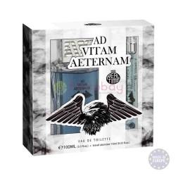 COFFRET PARFUM + Atomiseur de voyage  AD VITAM AETERNAM  + MINIATURE