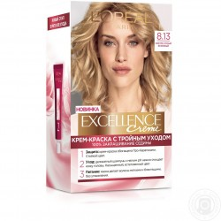 EXCELLENCE L OREAL PARIS – COLORATION – 8.13 BLOND GLACE