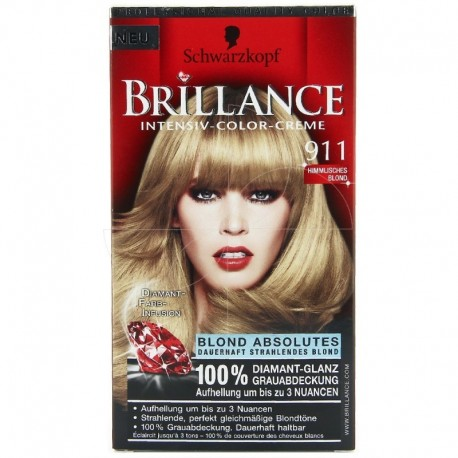 Coloration Brillance – Schwarzkopf blond divin N°911