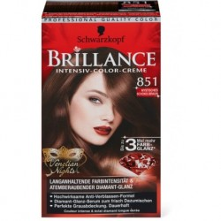 Coloration Brillance – Schwarzkopf Brun chocolat mystère N°851