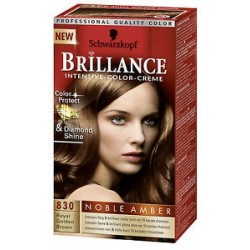 Coloration Brillance – Schwarzkopf Brun doré royal N°830