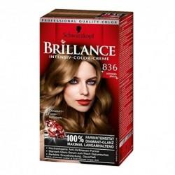 Coloration Brillance – Schwarzkopf Brun ensoleillé N°836
