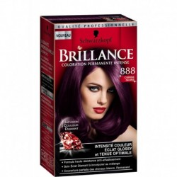 Coloration Brillance – Schwarzkopf Cerise noir N°888