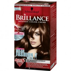 Coloration Brillance – Schwarzkopf Châtain velours N°874
