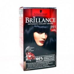 Coloration Brillance – Schwarzkopf Noir bleuté N°891