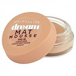 Fond de teint Dream Matte Mousse Maybelline N°30 Sable