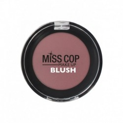 Fard a joues blush miss cop N°04 rose pourpre