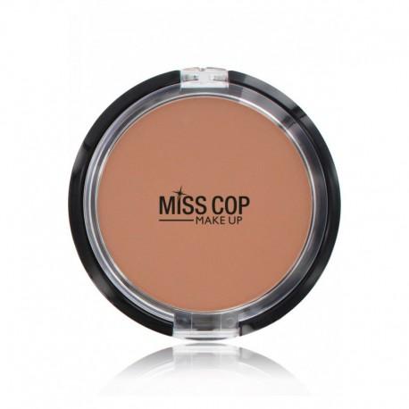 Poudre compact miss cop N°04 beige foncé