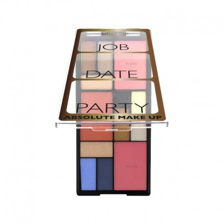 Palette 3 styles en 1 Absolute Makeup – MissCop