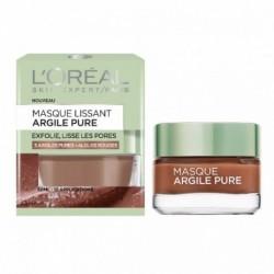 L OREAL – Masque argile pure – Exfolie, lisse les pores