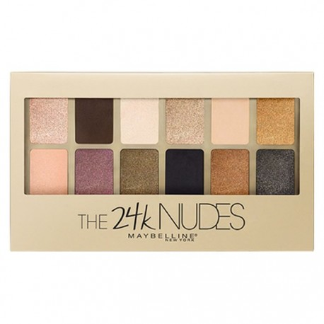 Palette The 24 karat Nudes de Maybelline New York