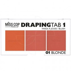 Draping Tab miss cop N°01 blonde