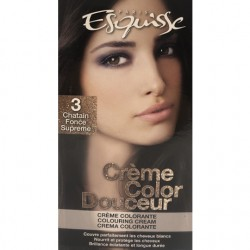 Couleur Chatain fonce supreme – Esquisse