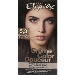 Couleur Chatain clair dore miel – Esquisse