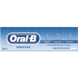 Dentifrice 1.2.3 Oral B