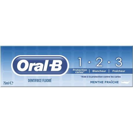 Dentifrice 1.2.3 Oral B