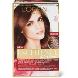 EXCELLENCE L OREAL PARIS – COLORATION – CHATAIN CLAIR ACAJOU – N°5.5