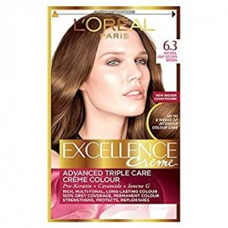 EXCELLENCE L OREAL PARIS – COLORATION – Chatain Foncé – N°6.3